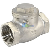 Brand New 2 Swing Check Valve WOG 200 PSI PN16 Stainless Steel SS316 CF8M NEWHigh Quality