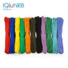 Iqiuhike paracord 100 cores 2mm 100ft, 50ft, 25ft um suporte cores paracord corda paracorde cabo para fazer jóias no atacado
