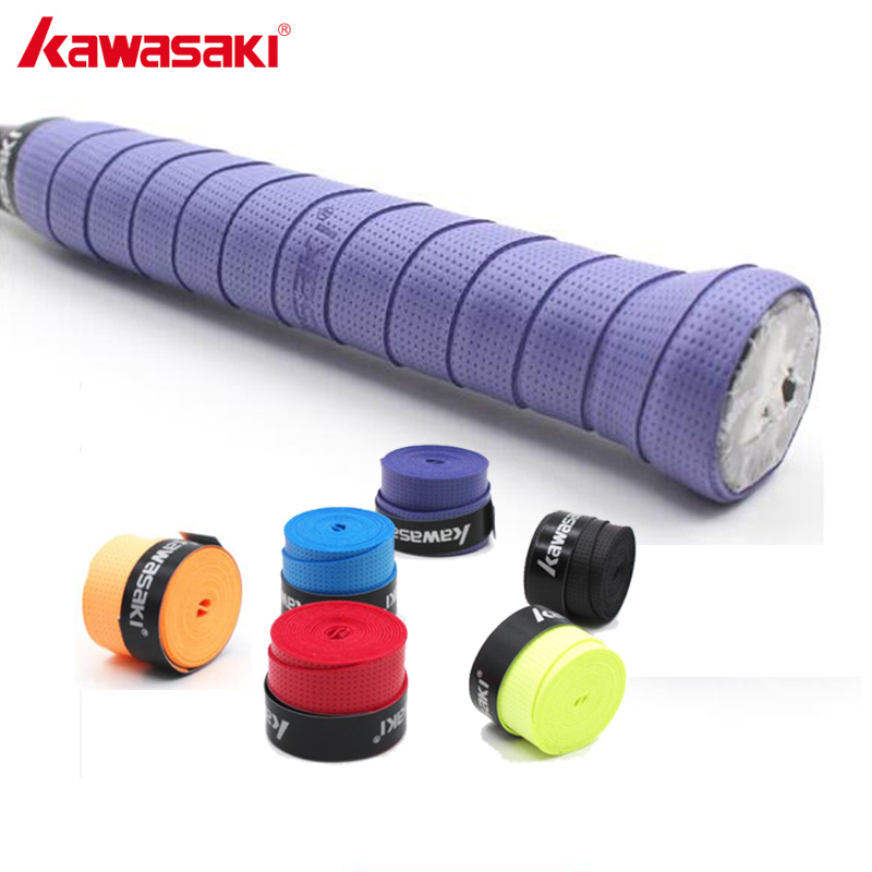 5Pcs/lot Kawasaki X28 Anti-slip Breathable Badminton Overgrip Tennis Racket Grip Sweatband Mix Color