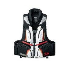 2017 DAIWA NEW Fishing life jacket Vest DF-3206 man DAIWAS outdoors buoyancy 120 kg light Multi-function DAWA Free shipping
