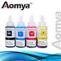 4PC/Set Dye Based Refill Ink Kit for Epson L100 L110 L120 L132 L210 L222 L300 L312 L355 L350 L362 L366 L550 L555 L566 printer