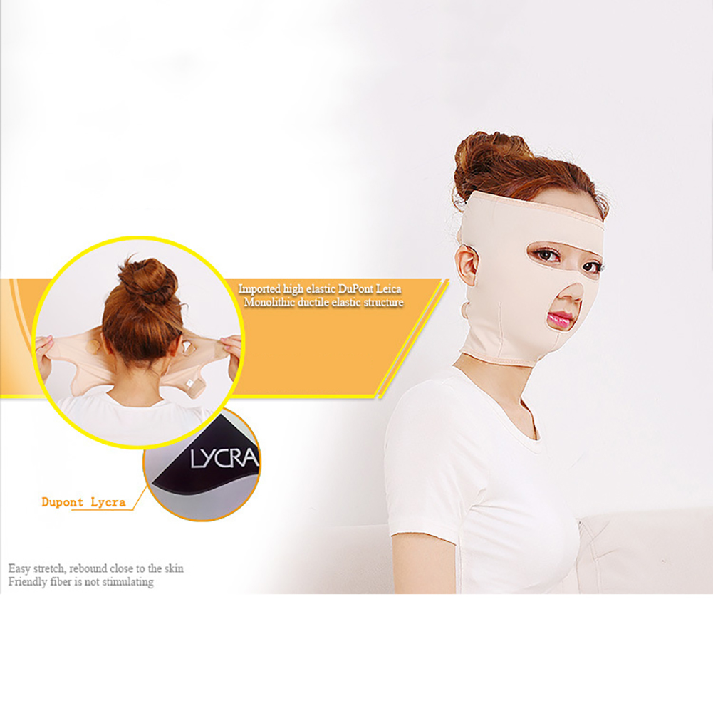 Delicate Facial Thin Face Mask Full Face Lift Masks Health Care Slimming Facial Double Chin Beauty Bandage Belt