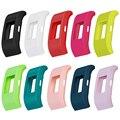Correia De Pulso Pulseira de Silicone Suave Protector Case Capa de substituição Para Fitbit Carga 2 Proteger