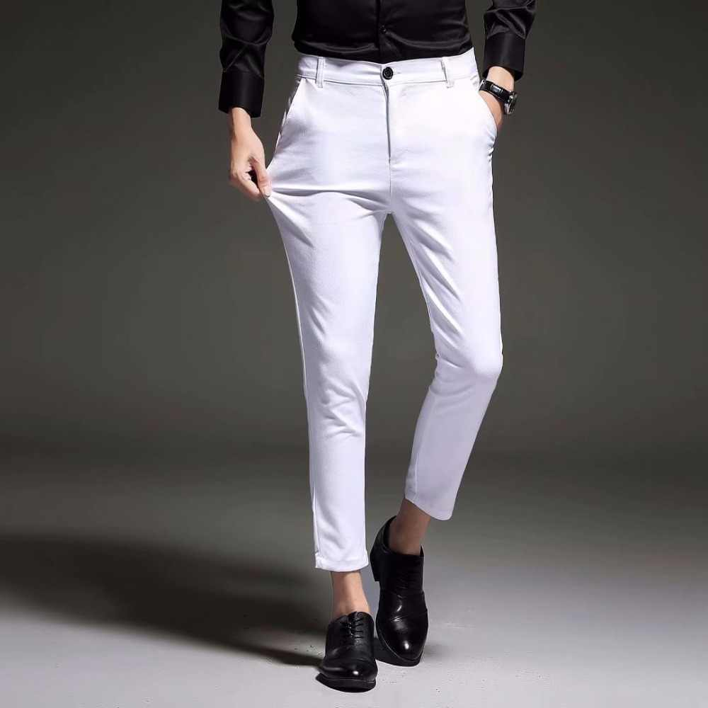 25a5be85d Black Ankle Dress Pants - raveitsafe