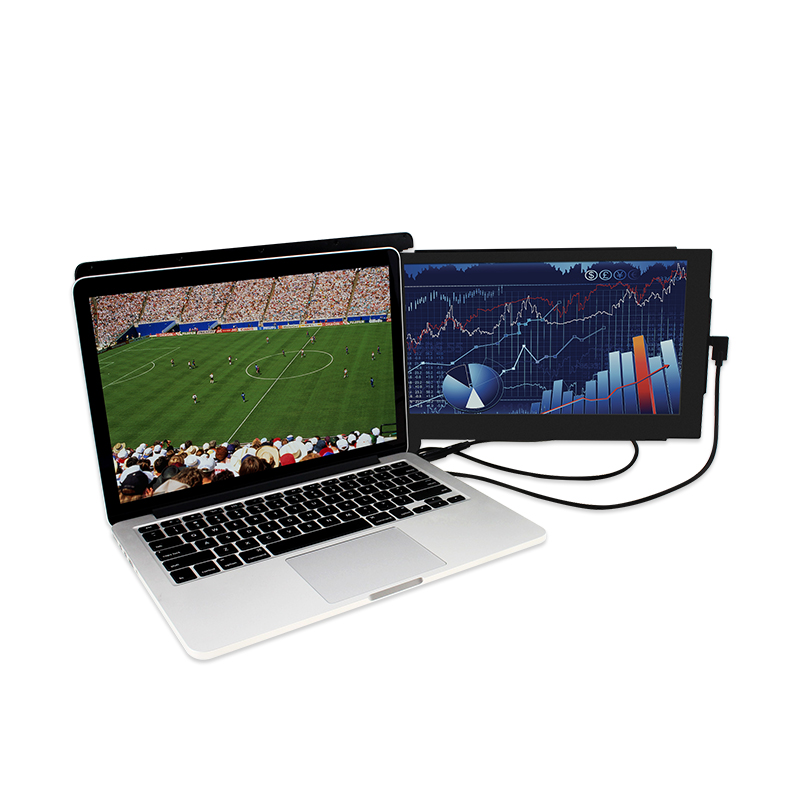 DUEX on the go dual screen Portable Laptop monitor for all Laptops Apple Lenovo multi task