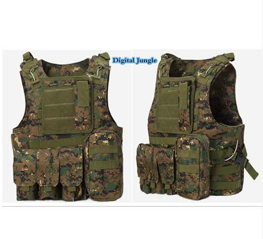 Military Body Armor Plates