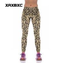 NEW KYK1079 Sexy Girl Women Weave Rattan 3D Prints High Waist Polyester Fitness Leggings Pants Plus Size