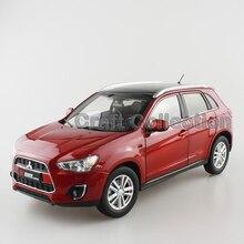 Red 1 18 Mitsubishi ASX Pajero 2015 SUV Diecast Model Car without Original Box