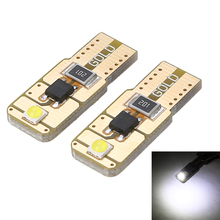 1 Pair 12-24V T10 W5W 194 168 3030SMD LED Bulb Canbus No Error Car Interior Door Side Marker Light 6000K White