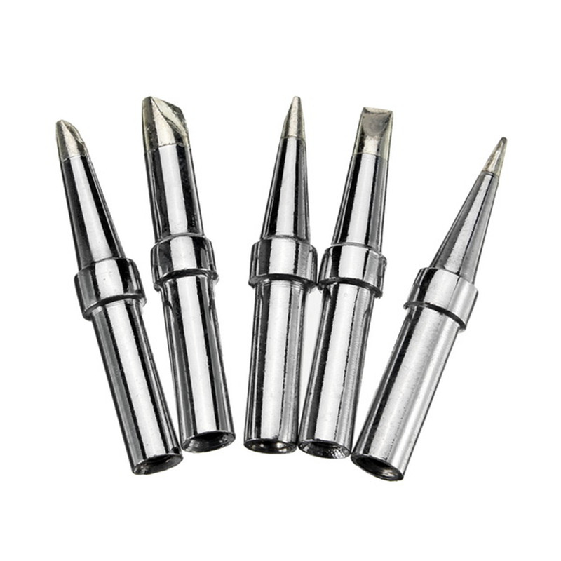 5Pcs Universial Lead Free Soldering Tip for WELLER Soldering Iron Station