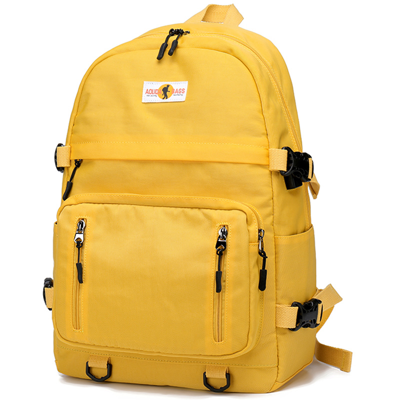 Analytisch Neue Design Usb Lade Rucksäcke Frauen Schule Tasche Rucksack Für Teenager Mädchen Mochila Freizeit Reise Tägliche Bagpack Weibliche-gelb