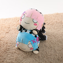 Hot animation Life in a different world from zero Plush toys Ram Rem
