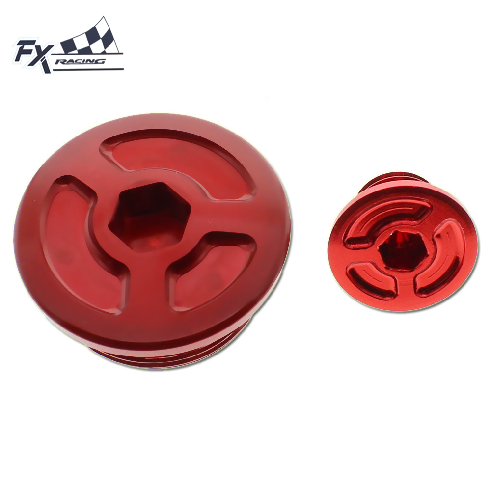 FX CNC Motorcycles Engine Access Cap Aluminum For Honda CBF125 CBF150 CBF 125 150 Accessories ...