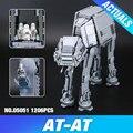 Lepin 05051 Star Series Guerra Força Despertar O AT-AT Transpotation Robô Blindado 75054 Blocos de Construção de Tijolos Brinquedos Educativos