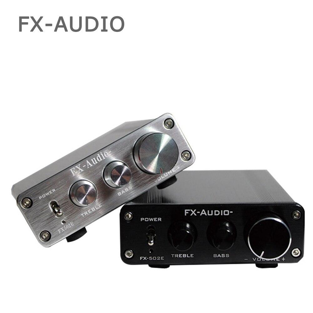 Fx-audio FX502E Hifi 2.0 Ordinateur de bureau Haut-Parleur Haute Puissance Pur Amplificateur Audio Numérique LM1036 Puissance 68 w * 2
