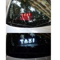 Daytime running lights for the car TAXI led light Cab indicator Car light Custom design Fog light Red/Blue/White/Yellow/Green