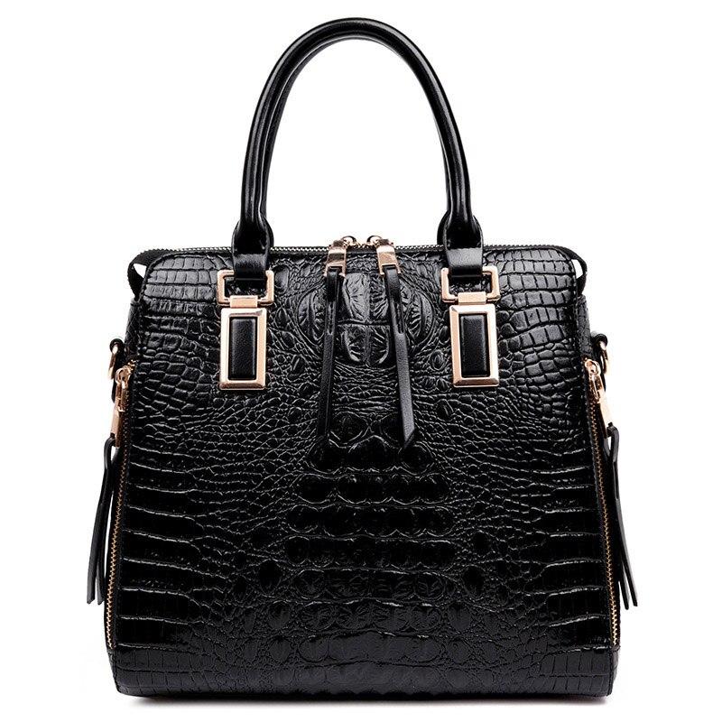 New Arrival Women Handbag Alligator Female Bag Fashion Women's Shoulder Bag Brand Large Capacity Messenger Bags Women's Handbags