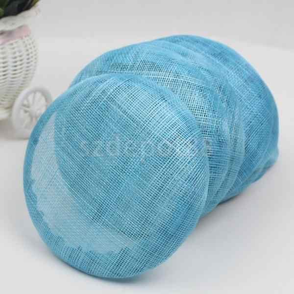 Women Lady Large 15cm Round Sinamay Hat fascinator Base Millinery Making Craft