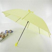 Colorful Transparent Automatic Rain Umbrella Dome Wedding Party Favor Waterproof  Long Handle Student Creative