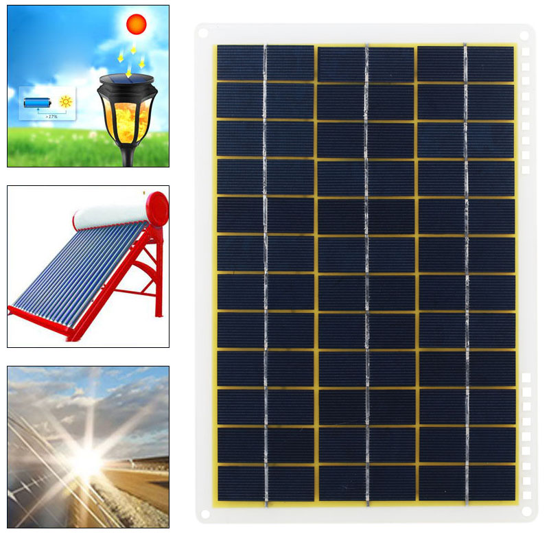 IP65 Solar Charging Equipment Outdoor Module Car Reusable Solar Energy Powered Home Improvement Solar Cells Environmental Camp