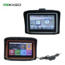 Новый 4.3 дюймов HD 8 ГБ Внутренний водонепроницаемый IPX7 Bluetooth GPS навигатор мотоцикл + Windows CE 6.0 + Карты