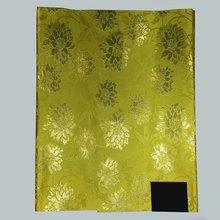 Lemon yellow Nigerian Sego headtie gele & wrapper,African Gele head tie wrap,Jubilee sego headties 2pcs/pack LXL-7-12