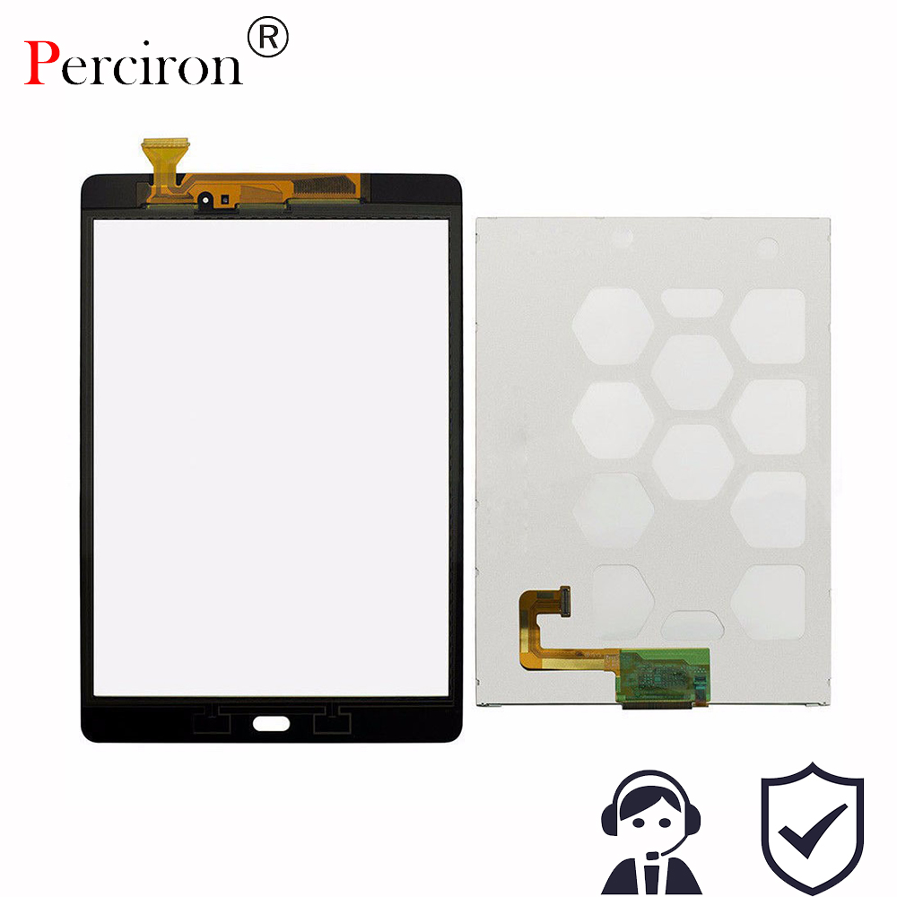 New 9.7'' LCD Touch Panel For Samsung Galaxy Tab A 9.7 SM-T550 T550 T551 T555 LCD Display Touch Screen Digitizer Free Shipping free shipping touch screen with lcd display glass panel f501407vb f501407vd for china clone s5 i9600 sm g900f g900 smartphone