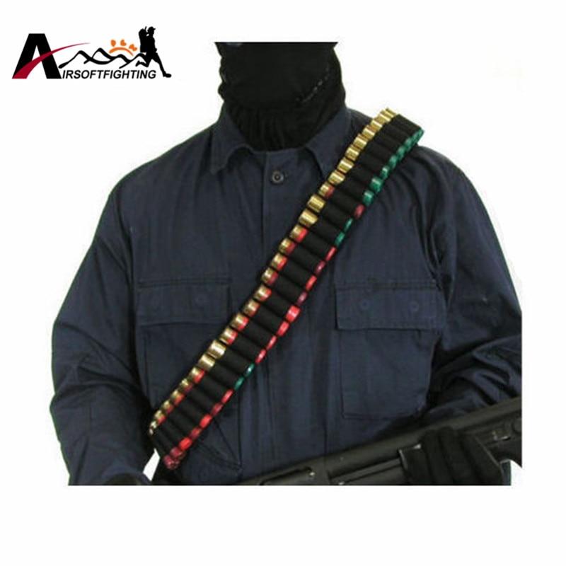 140 * 5cm 50 Shotgun Shell Bandolier белдігі 12 GA 20GA - Аңшылық - фото 2