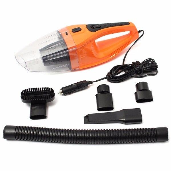 Orange 12V 100W Portable Car Vehicle Automobile Handheld Vacuum Cleaners Wet Dry Dual-use Car Vacuum Cleaner