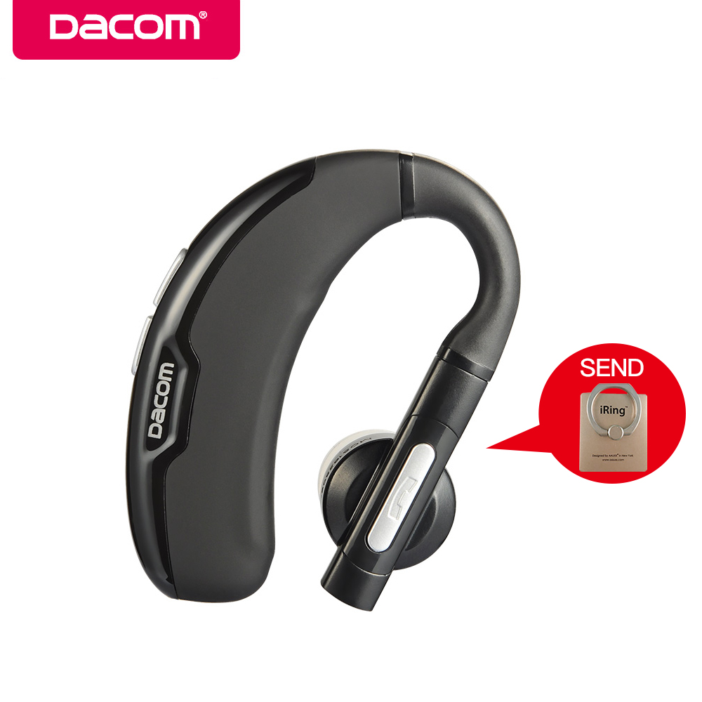 DACOM M10 Wireless Earphone Bluetooth Earbuds Business Headset with Mic Handsfree Earpiece Headphone for IOS Android Cell Phone free shipping wireless bluetooth headset sports headphone earphone stereo earbuds earpiece with microphone for phone