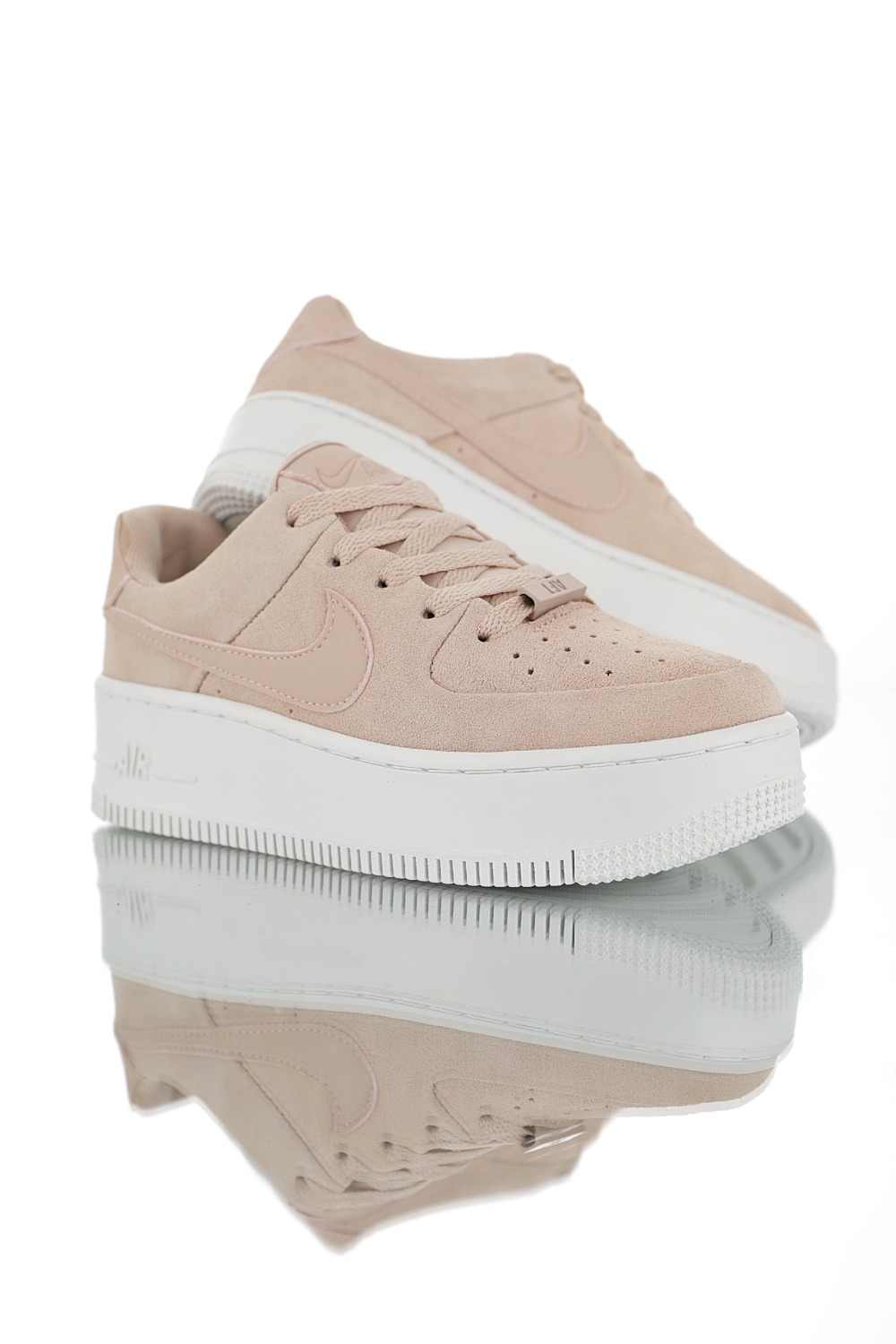 Absorption Nike Outdoor Shoes Original Skateboarding Shock Air Arrival 1 Low New Sage Women's Sneakers Force Wmns b67gyYf