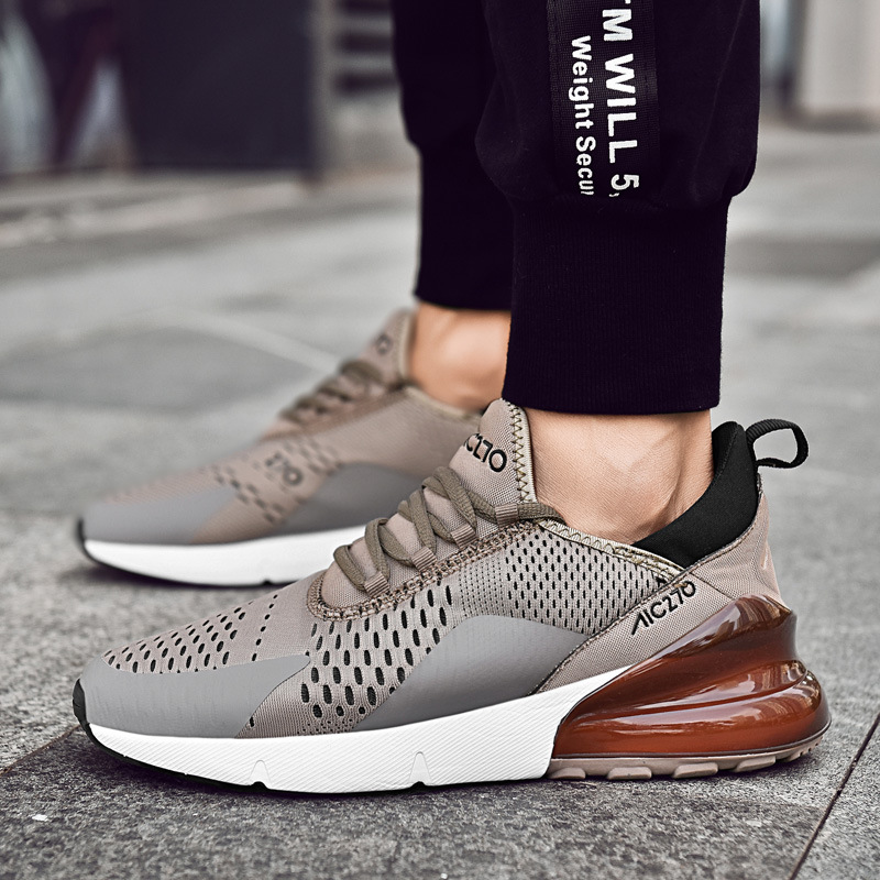 2019 New Men Sneakers Lightweight Breathable Spring/Autumn Lace-Up Arrival Brand Designer Sport Running Shoes