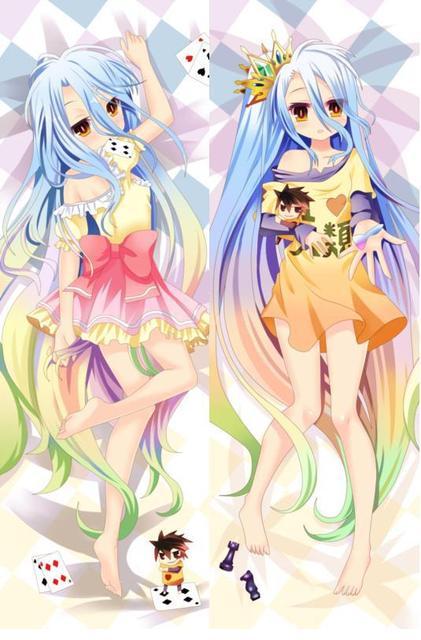 Costume Props Good Anime Jk No Game No Life Hatsuse Izuna Warbeast Dakimakura Body Pillowcase Hug Pillow Case The Latest Fashion Costumes & Accessories