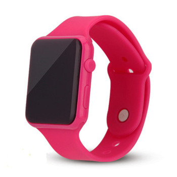 Children Watches LED Digital Clock 2020 New Stylish Silicone Watchband Square Sports Electronic Dropshipping - discount item  30% OFF Children's Watches