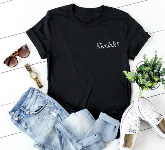 031162d8b816f Feminist Shirt Girl Power Supporting Babes T Shirt Smash The ...