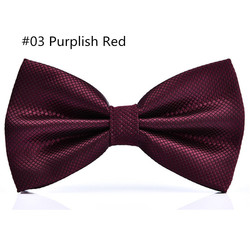 RBOCOTT 23 Colors Solid Fashion Bow Tie Men's Plaid Bowties Red Blue Green Silvery Gray For Men Women Wedding Accessories 6