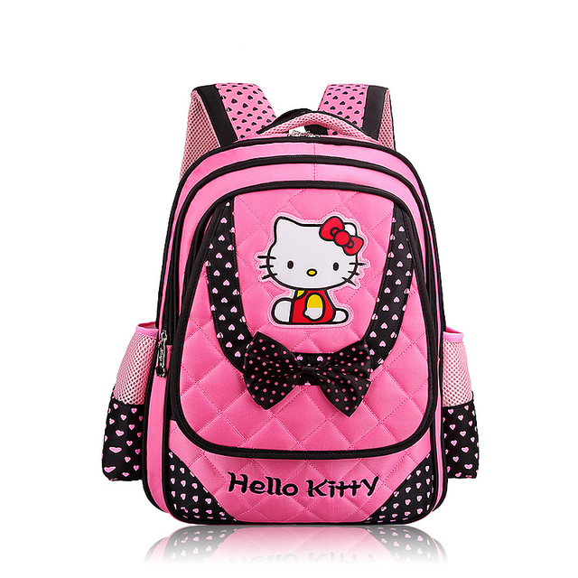 Children School Bags Primary School 1-6 Grade Students Princess Girls Shoulders Backpack Child Cartoon Little Girls Backpacks