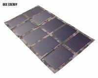 GGX энергии DIY Портативный складной 100 Вт/18 В монокристаллического Панели солнечные Зарядное устройство сумка для ноутбука/12 В Батарея фабрик