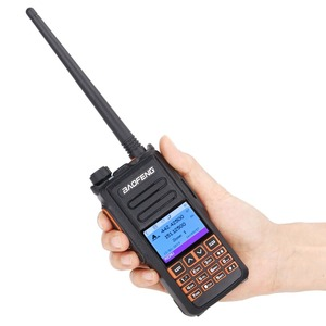 Image 2 - 2pcs Baofeng DM X GPS מכשיר קשר כפול זמן חריץ DMR דיגיטלי/אנלוגי DMR מהדר שדרוג של DM 1702 חזיר נייד רדיו