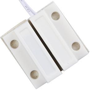 Image 2 - 5 par/lote MC 38 abs com fio porta janela sensor interruptor magnético casa sistema de alarme detector família proteção branco gt