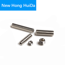Hex Head Socket Cap Set Grub Screw Hexagon Metric Thread Headless Allen head Cup Point Bolt 304 Stainless Steel M2 100pcs lot m2x12 mm m2 12 mm yuan cup half round head 304 stainless steel hex socket head cap screw bolts