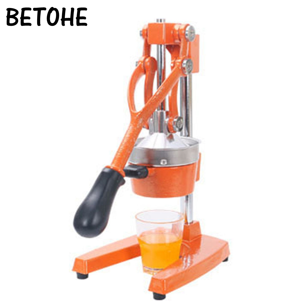BETOHE Fruits Légumes Main Manuel Squeezer juicer Orange Citron Jus lent Appuyant Sur hotte En Acier Inoxydable machine