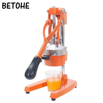 BETOHE Fruits Vegetable Hand Manual Squeezer juicer Orange Lemon Juice slow Pressing extractor Stainless Steel machine