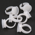 100pcs Disposable Glue Permanent Makeup Ring Tattoo Ink Pigments Holder Rings Container/Cup Small Size free shipping