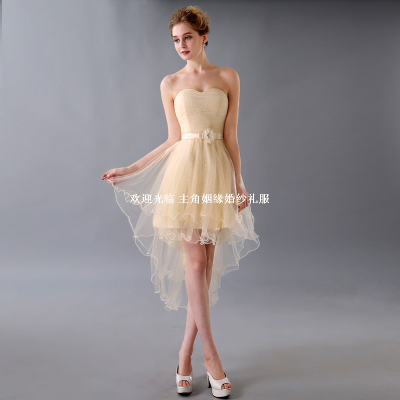 Cocktailkleider High Low Cocktail Dress New 2015 Lace Grace Women ...