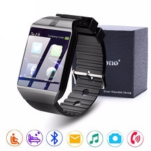 Bluetooth Smart Watch DZ09 Relojes Smartwatch Relogios TF SIM Camera for IOS IPhone Samsung Huawei Xiaomi Android Phone(China)