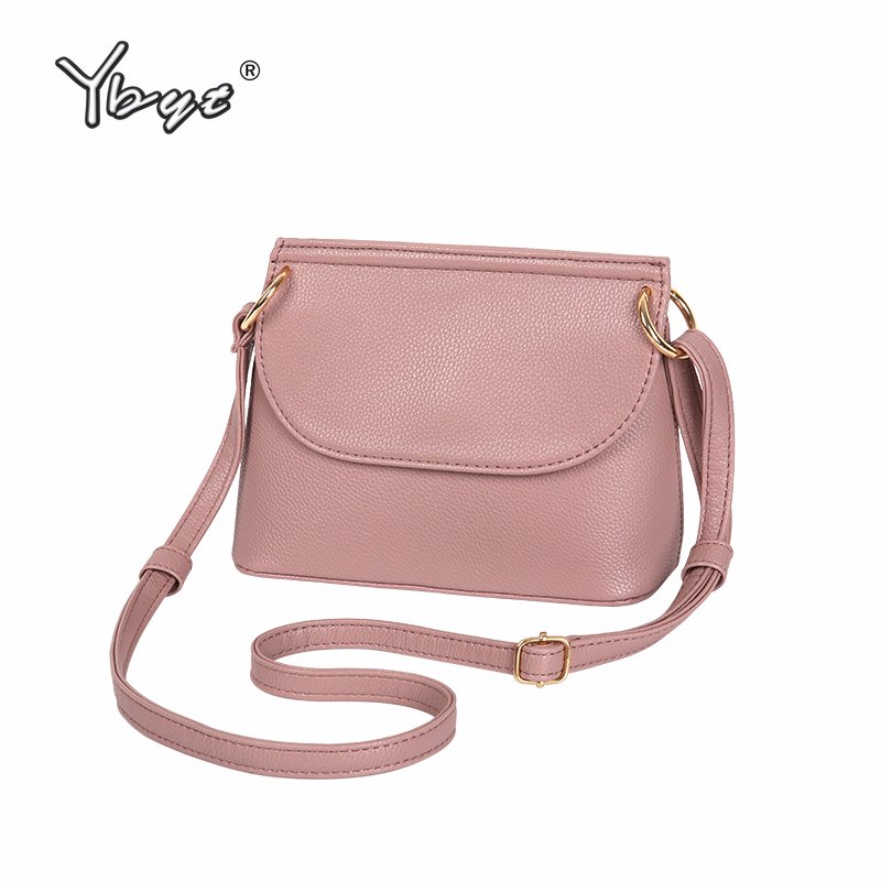 YBYT Brand 2018 New High Quality Soft Women Shell Bag Casual Simple Lady Shopping Coin Purses Shoulder Messenger Crossbody Bags