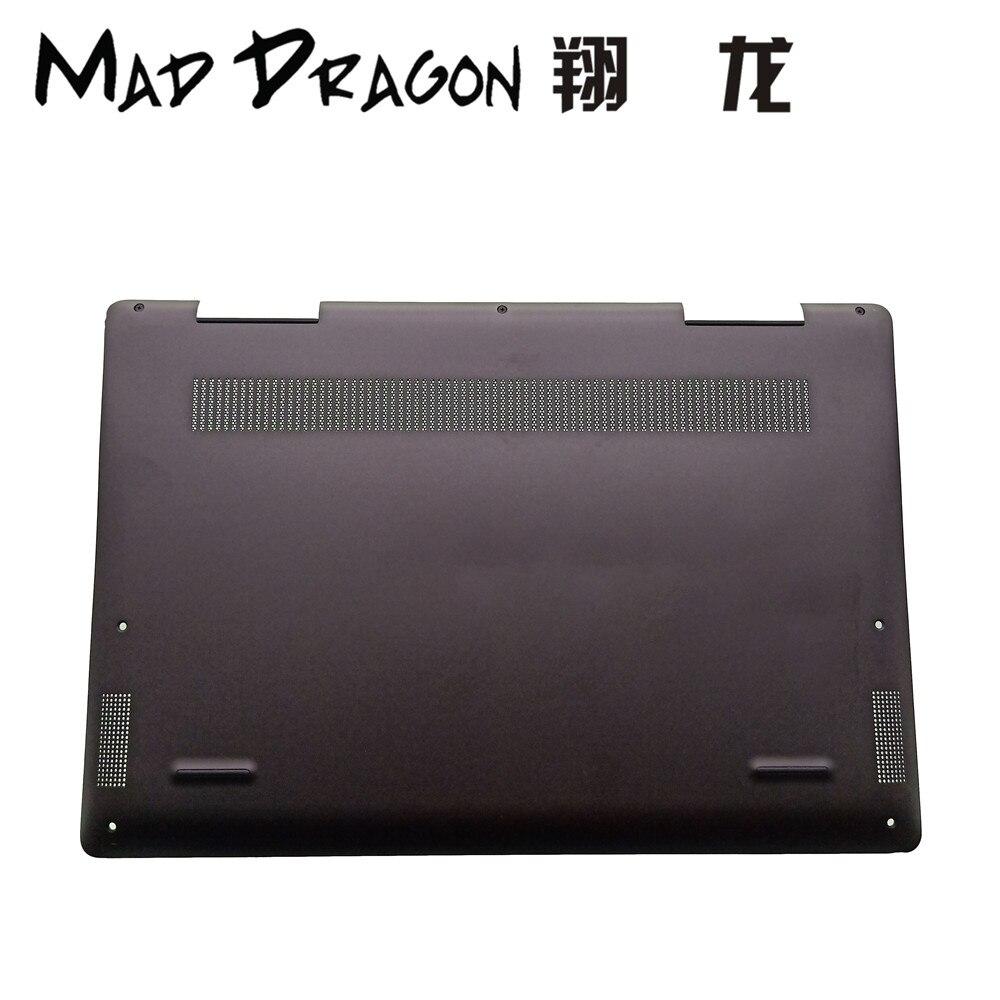 MAD DRAGON marque ordinateur portable nouveau fond bas couvercle assemblage noir pour Dell Inspiron 13 7000 7386 2-en-1 7386 3T7HW 03T7HW