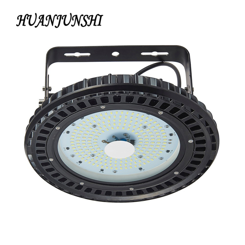HOT 220-240V 150W UFO High Bay Light LED Mining Lamp IP54 SMD5730 Industrial Lighting Light Ceiling Spotlight  For Warehouse 200w integrated led industrial lighting high bay light lamp warehouse ceiling factory floor lighting led mining white warm white