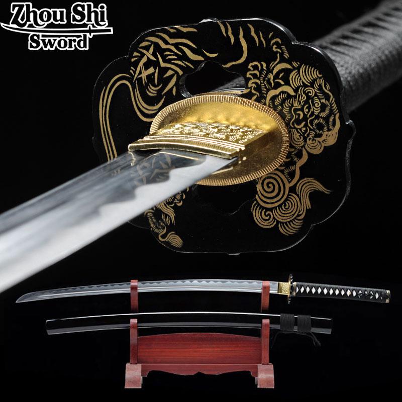 Metal Katanas Sword 1095 steel Full hand-made Katana sword Exquisite equipment Espada gifts
